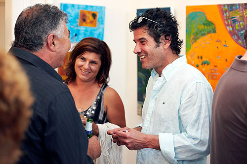 oil gallery opening