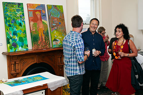 painting gallery party